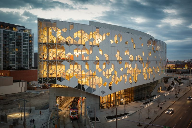 Calgary New Central Library -exterior - credit - Michael Grimm
