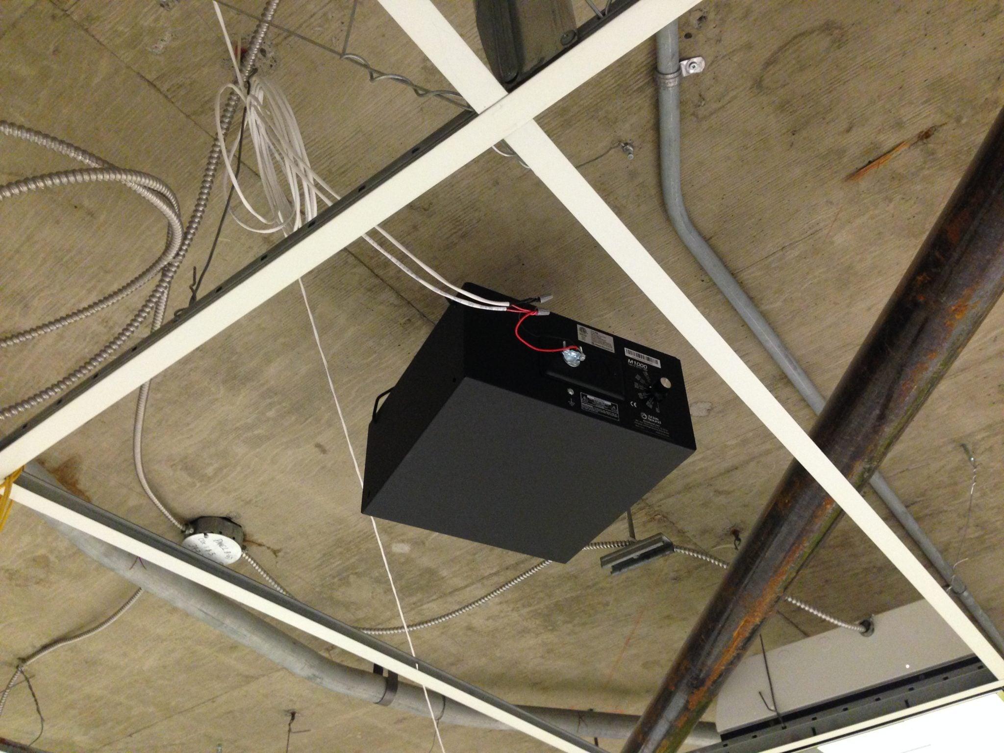 Vibra-Sonic Control closed ceiling speaker